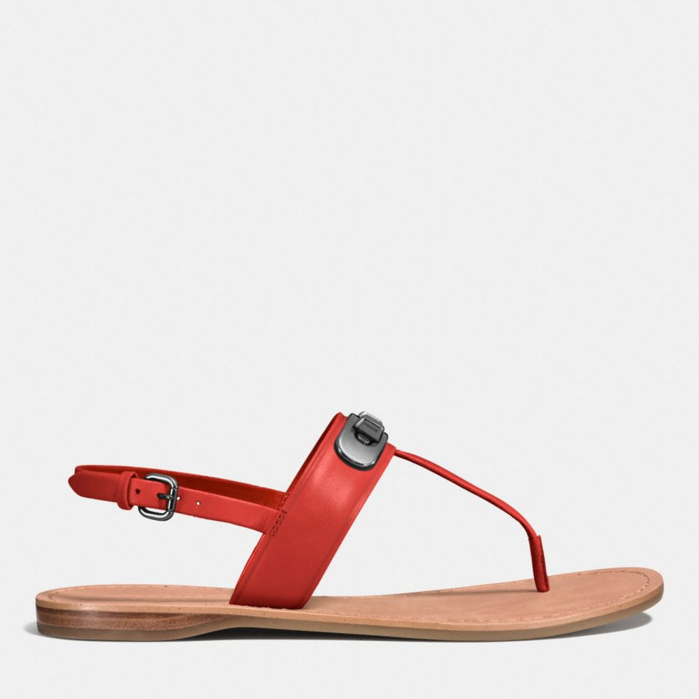 Coach Gracie Swagger Sandal Alternate View 1