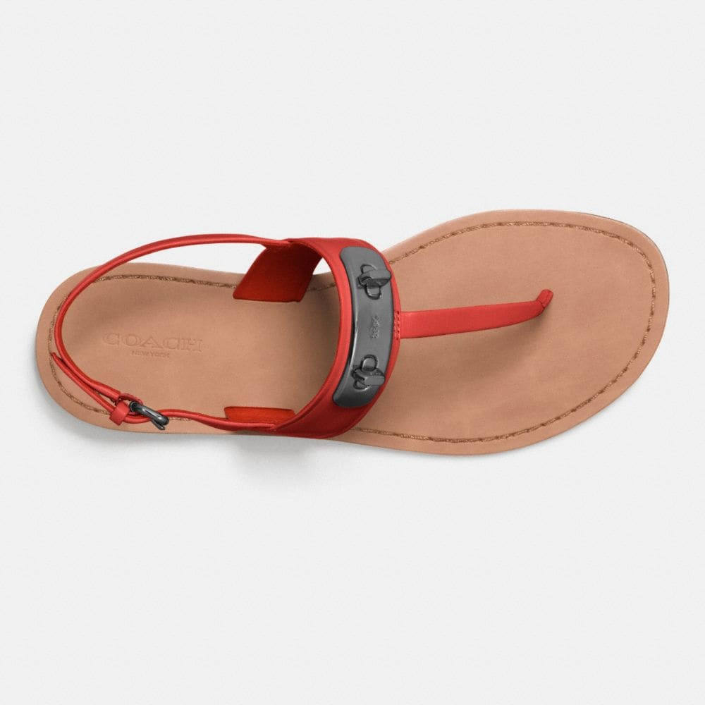 Coach Gracie Swagger Sandal Alternate View 2