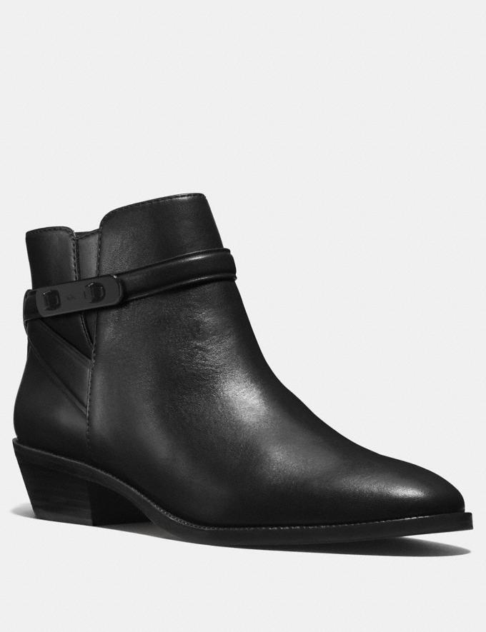 Coach Coleen Bootie Black SALE Women's Sale Shoes