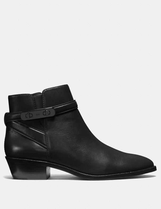 Coach Coleen Bootie Black SALE Women's Sale Shoes Alternate View 1