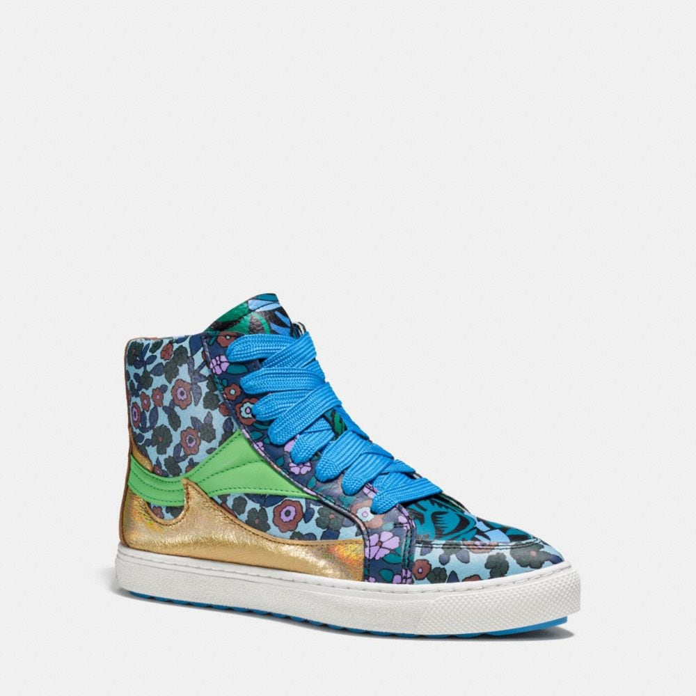 Coach C203 Pointy Toe High Top Sneaker