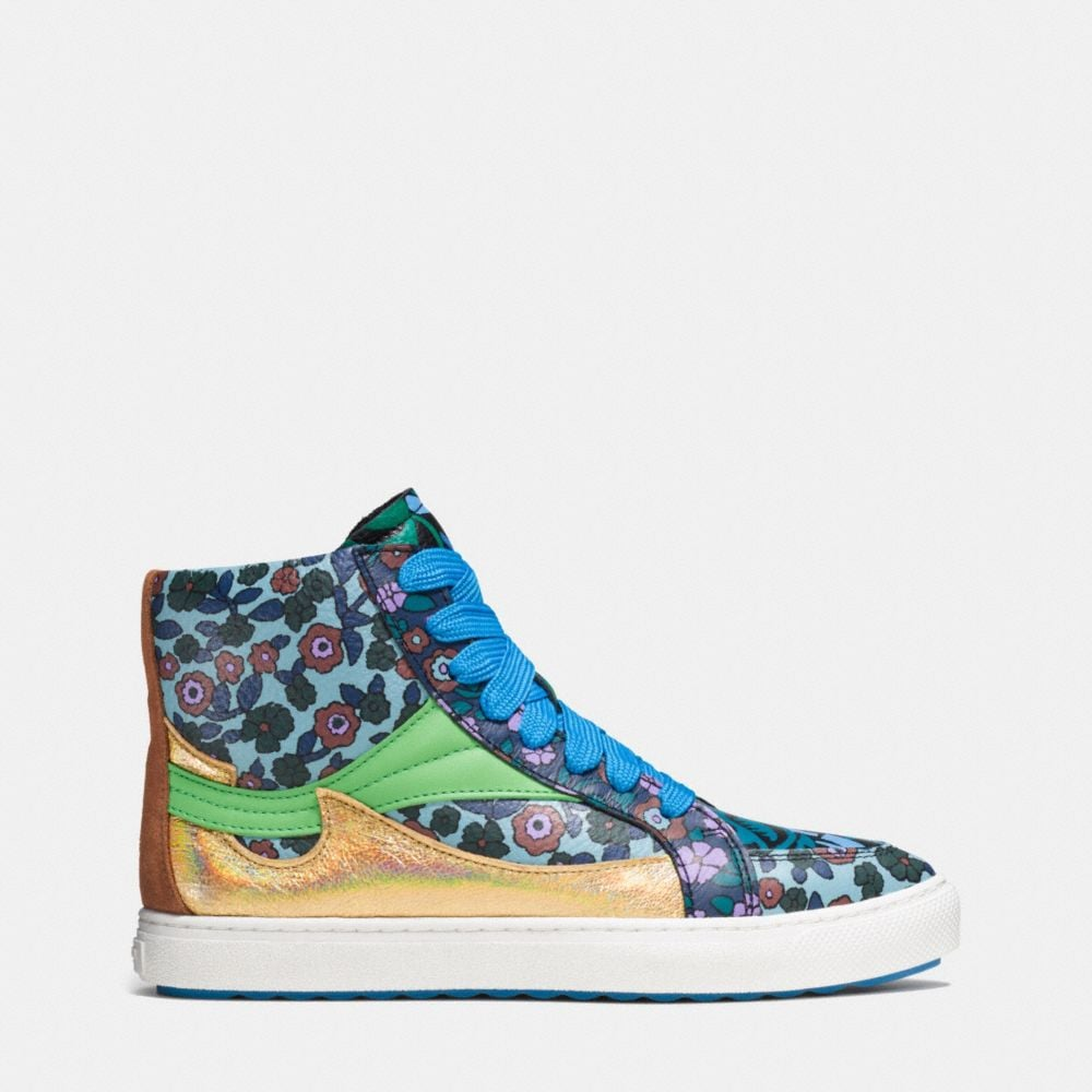 C203 Pointy Toe High Top Sneaker - Alternate View A1