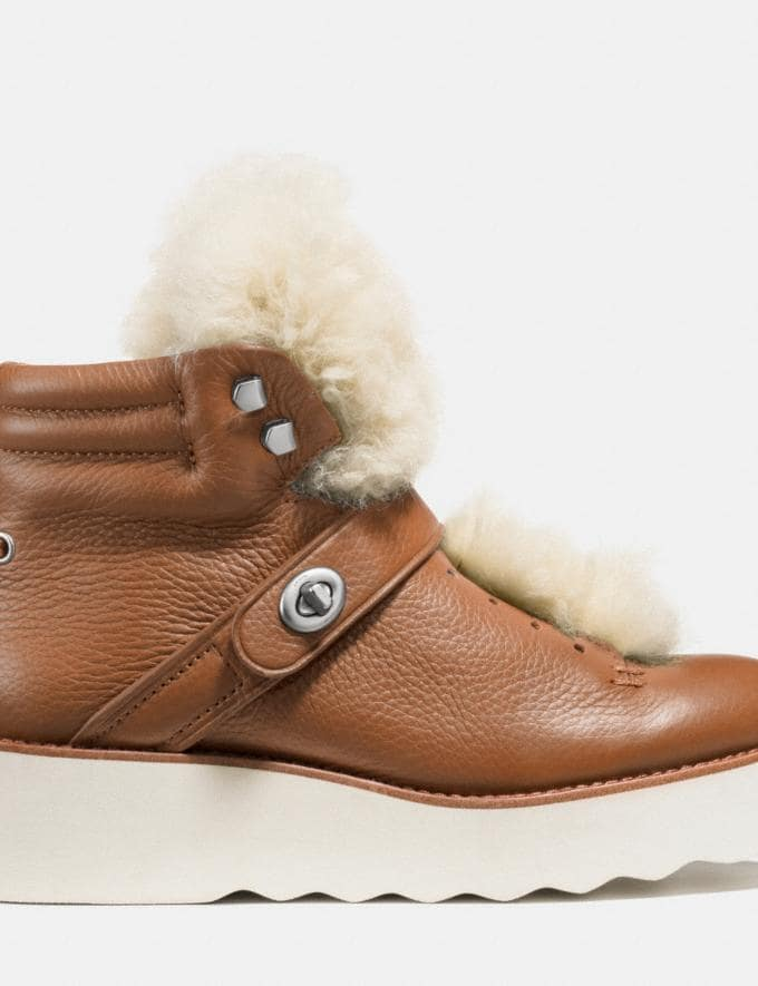 Coach Urban Hiker Boot Saddle/Natural Women Shoes Sneakers Alternate View 1