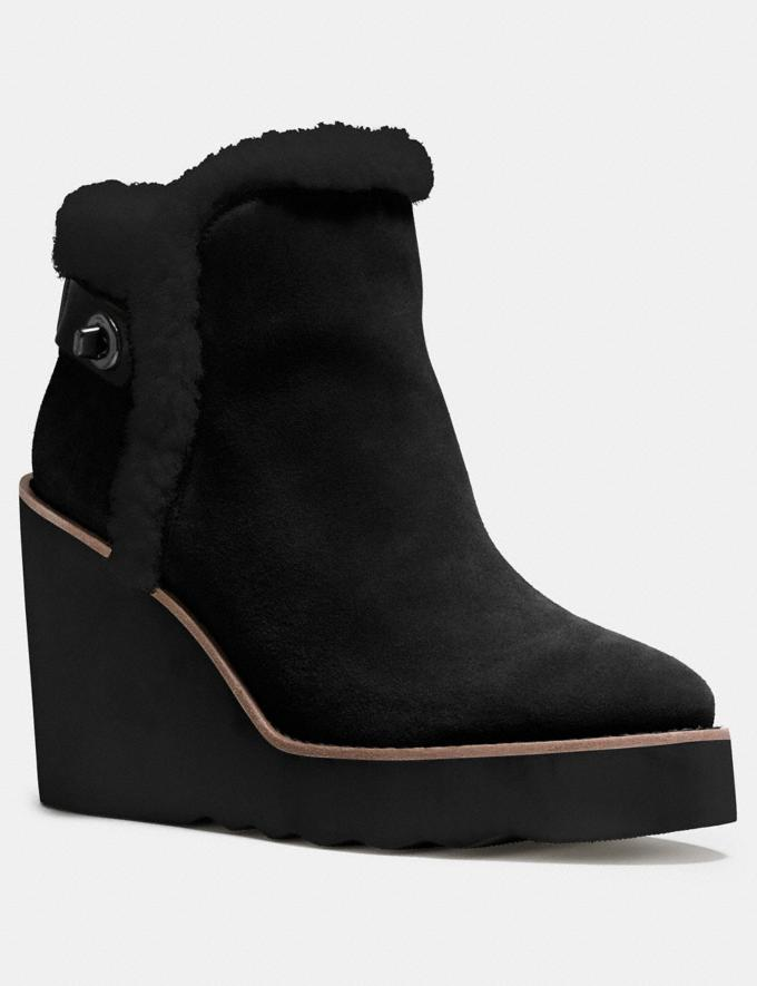 Coach Kingston Boot Black/Black