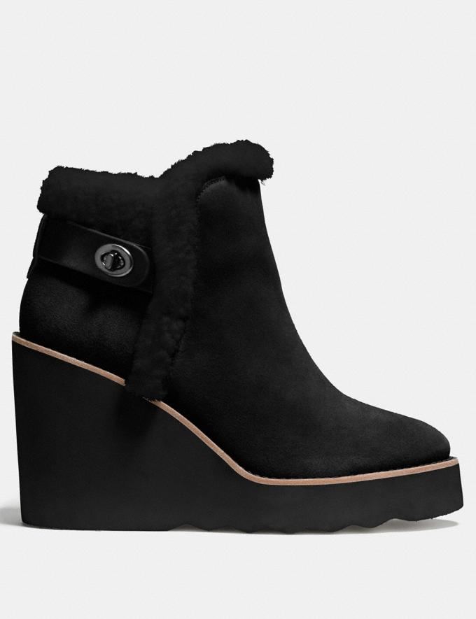 Coach Kingston Boot Black/Black  Alternate View 1