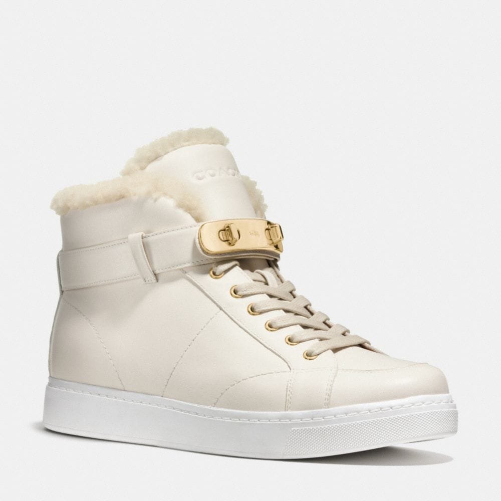 Coach Richmond Shearling Sneaker