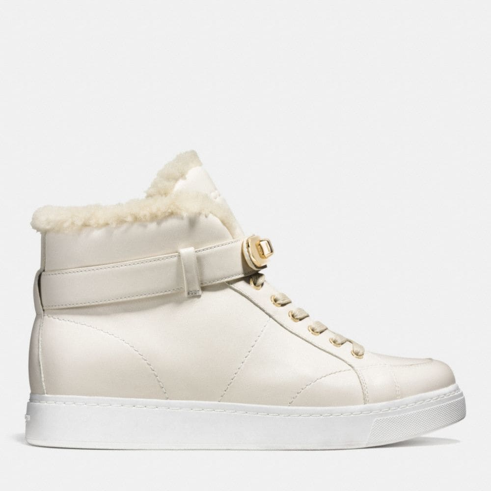 Coach Richmond Shearling Sneaker Alternate View 1