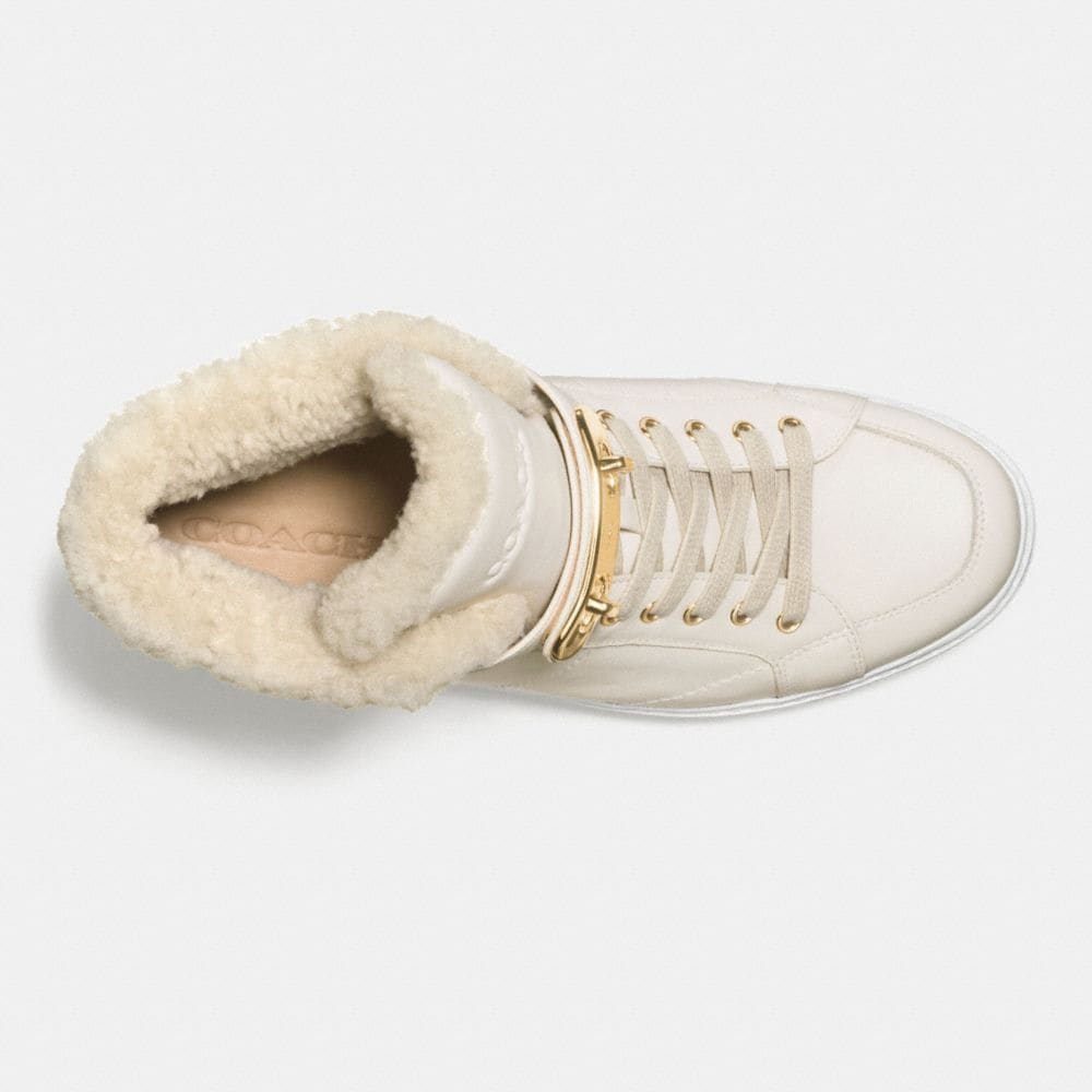 Coach Richmond Shearling Sneaker Alternate View 2