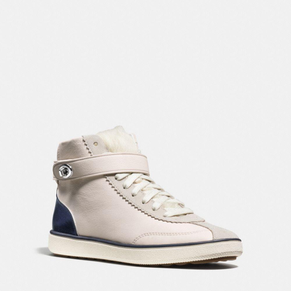 Coach C213 Shearling Sneaker