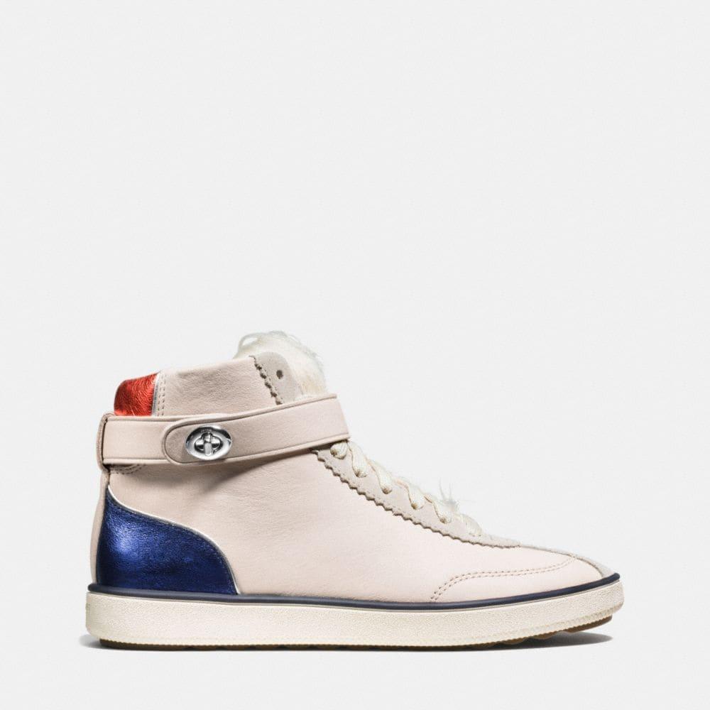 C213 Shearling Sneaker - Alternate View A1