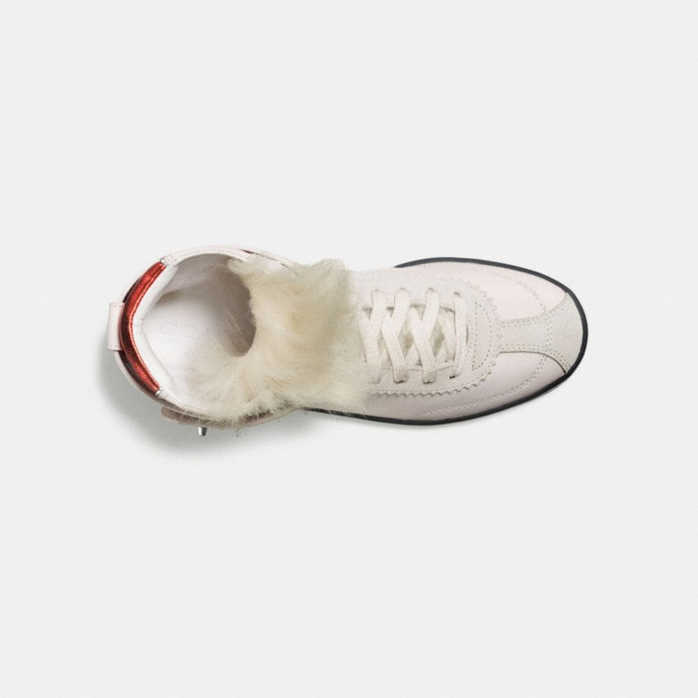 C213 Shearling Sneaker - Alternate View L1