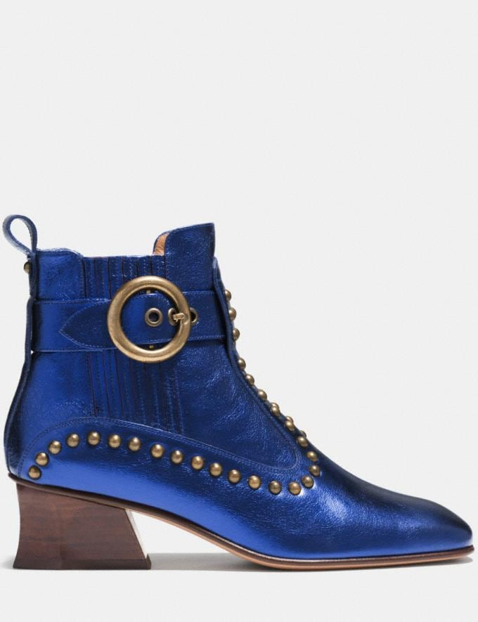 Coach Chelsea Boot Navy  Alternate View 1