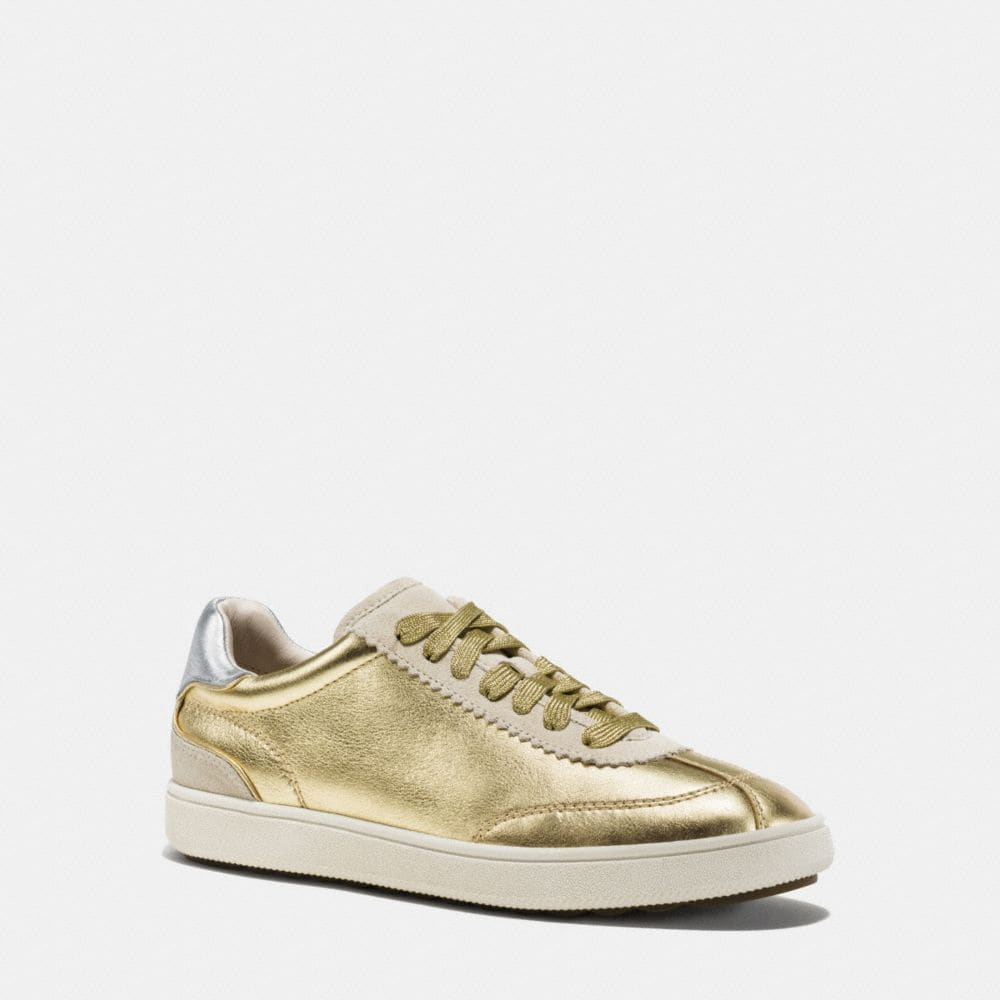 Coach C113 Lace Up Sneaker