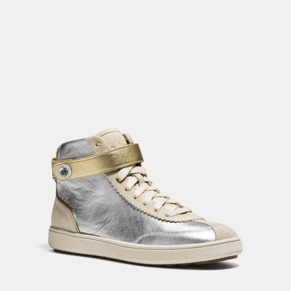 Coach C213 High Top Sneaker