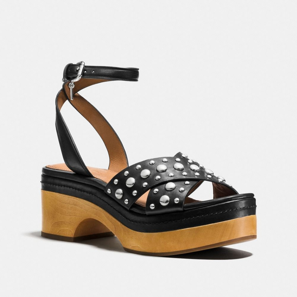 Coach Astor Studded Clog