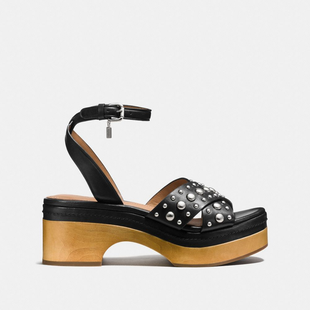 Coach Astor Studded Clog Alternate View 1