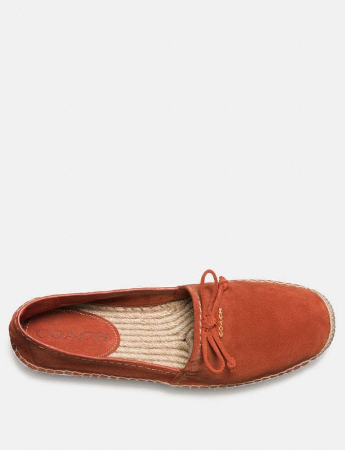 Coach Rae Espadrille Terracotta  Alternate View 2