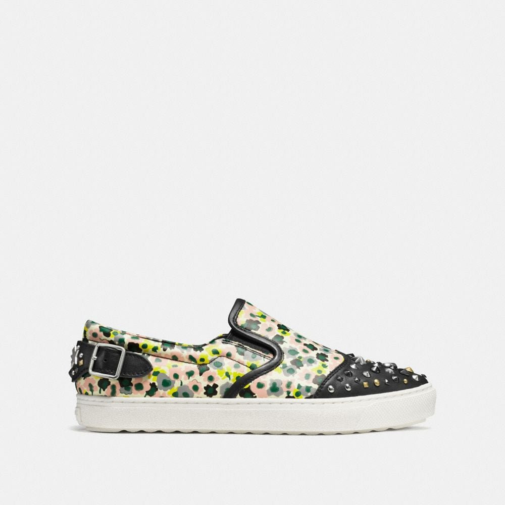 C103 in Floral Print With Studs - Alternate View A1