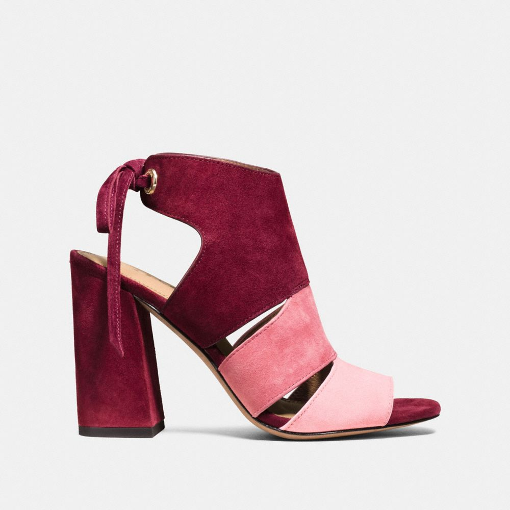 Coach Minetta Colorblock Sandal Alternate View 1