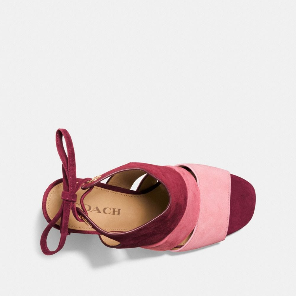 Coach Minetta Colorblock Sandal Alternate View 2