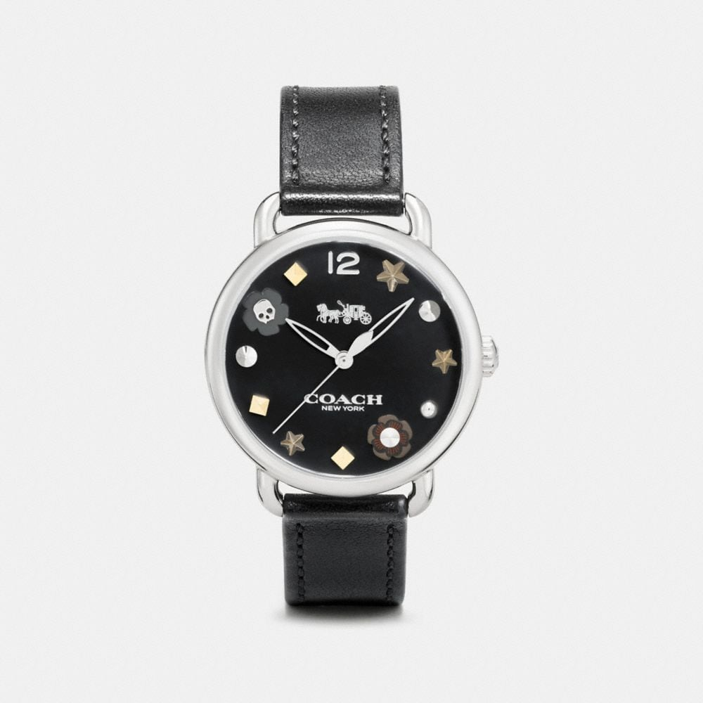 DELANCEY WATCH WITH CHARM DIAL, 36MM