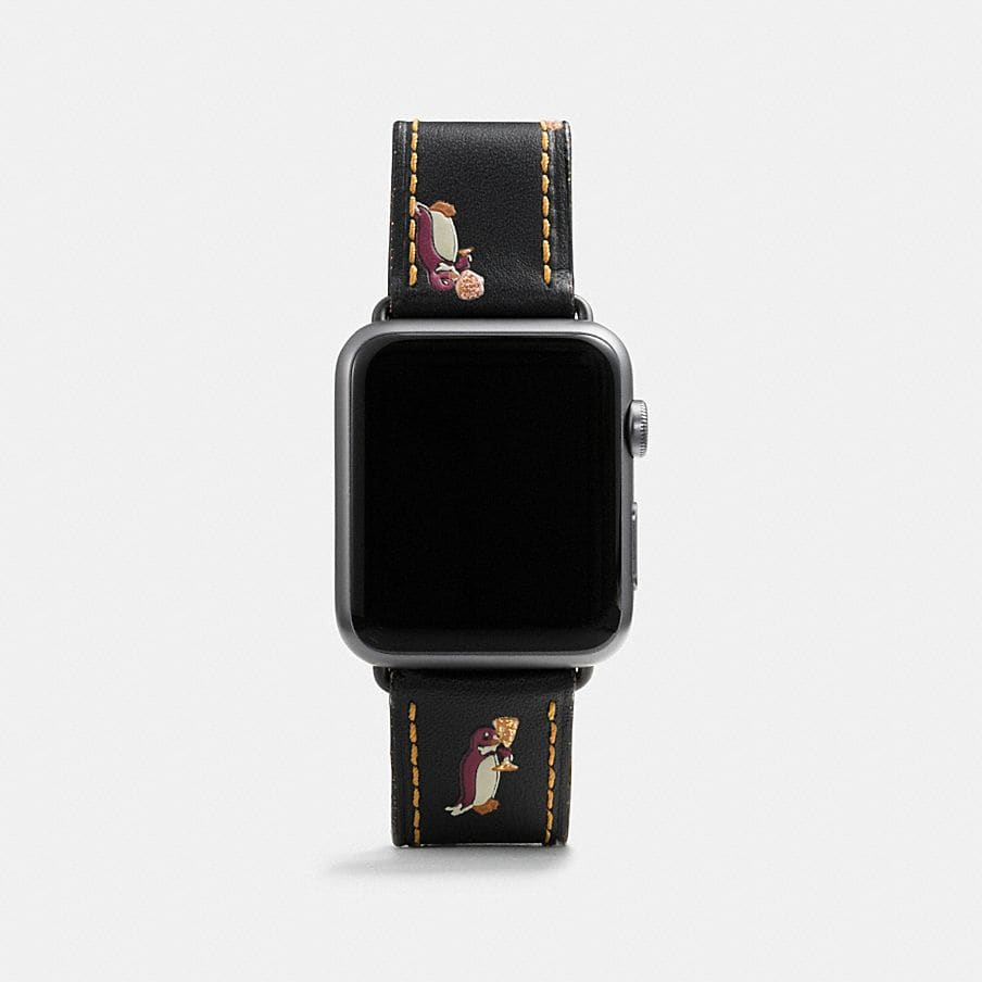 Coach Apple Watch 174 Strap With Prints