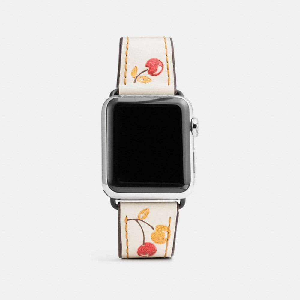 APPLE WATCH® PRINTED LEATHER STRAP