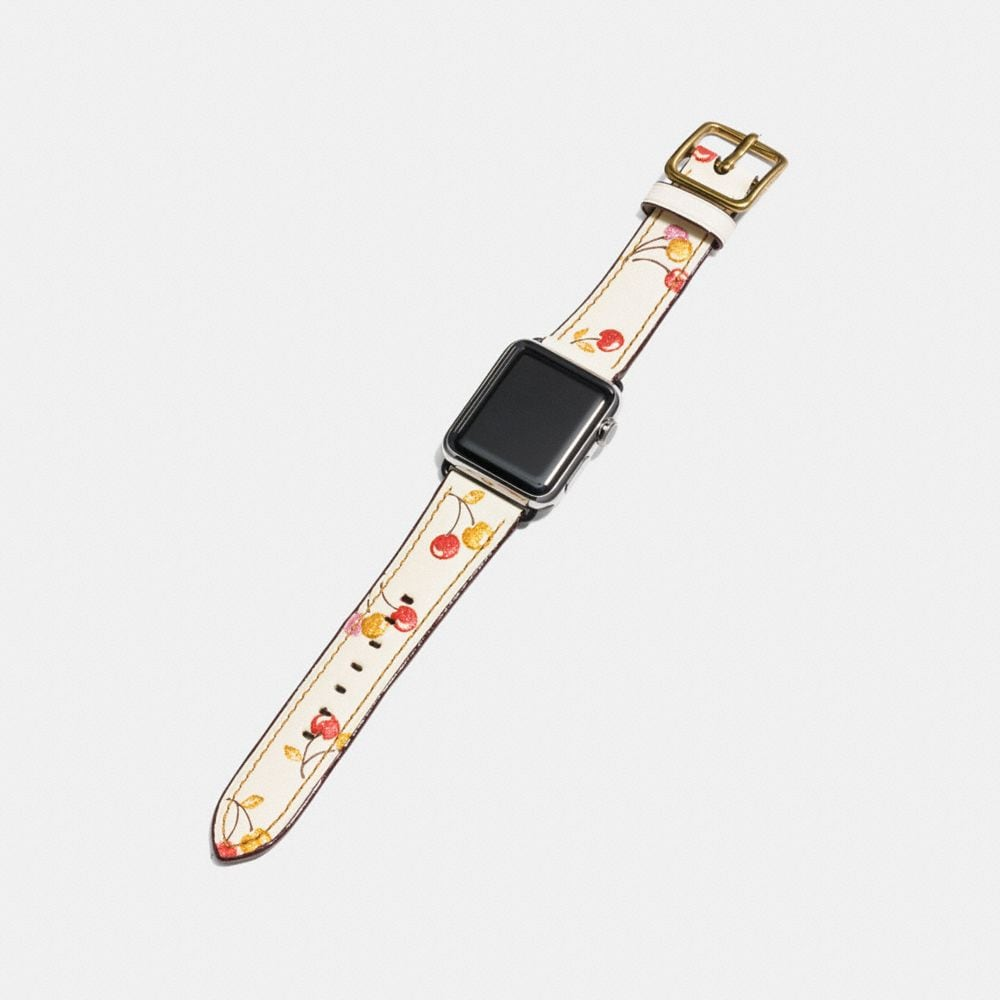 Coach Apple Watch® Strap With Prints Alternate View 1
