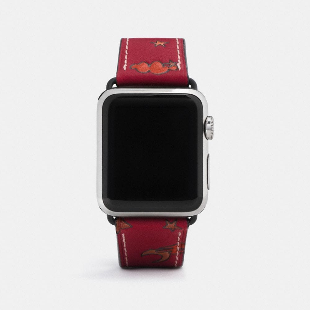 Coach Apple Watch® Strap With Prints