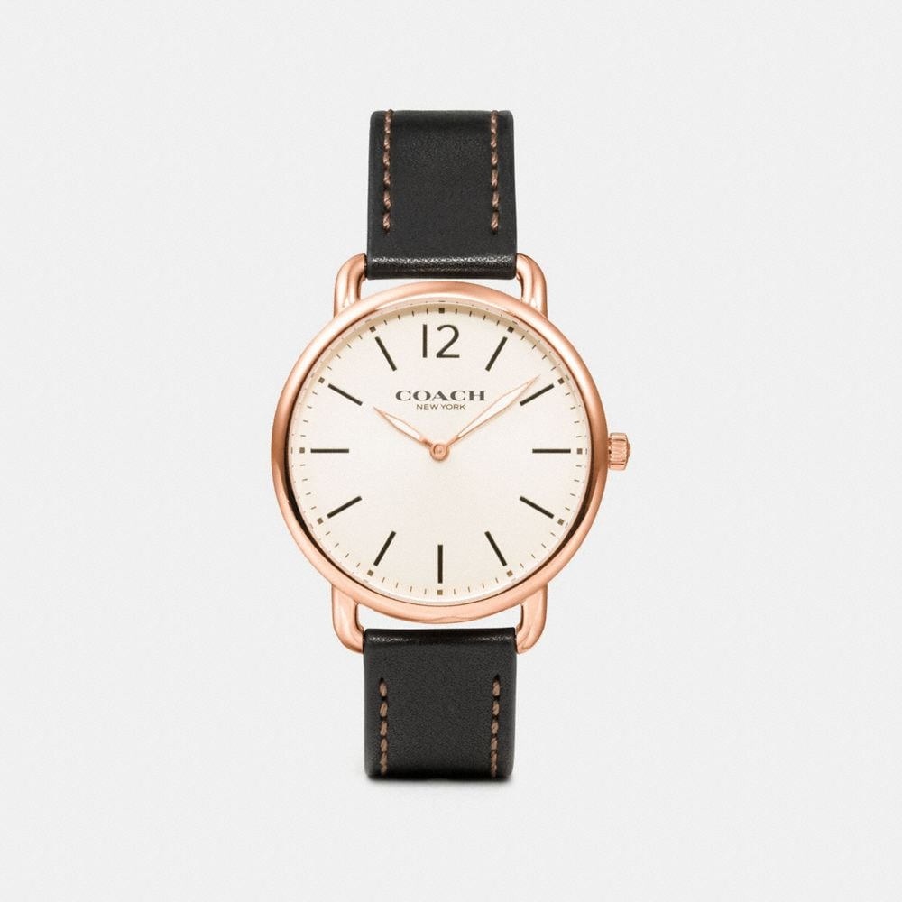 Coach Delancey Slim Watch, 40mm