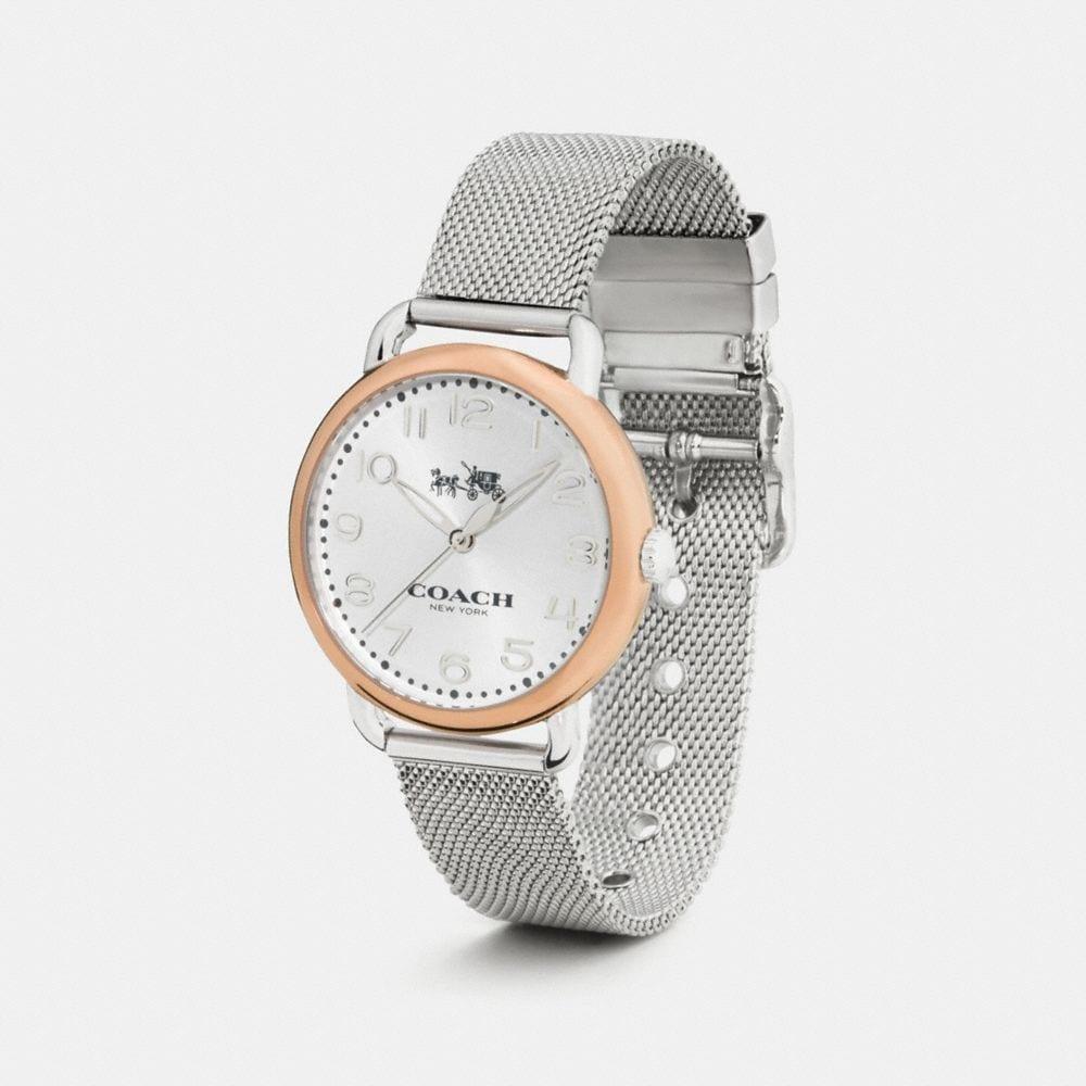 Delancey Two-Toned Mesh Bracelet Watch - Alternate View A1