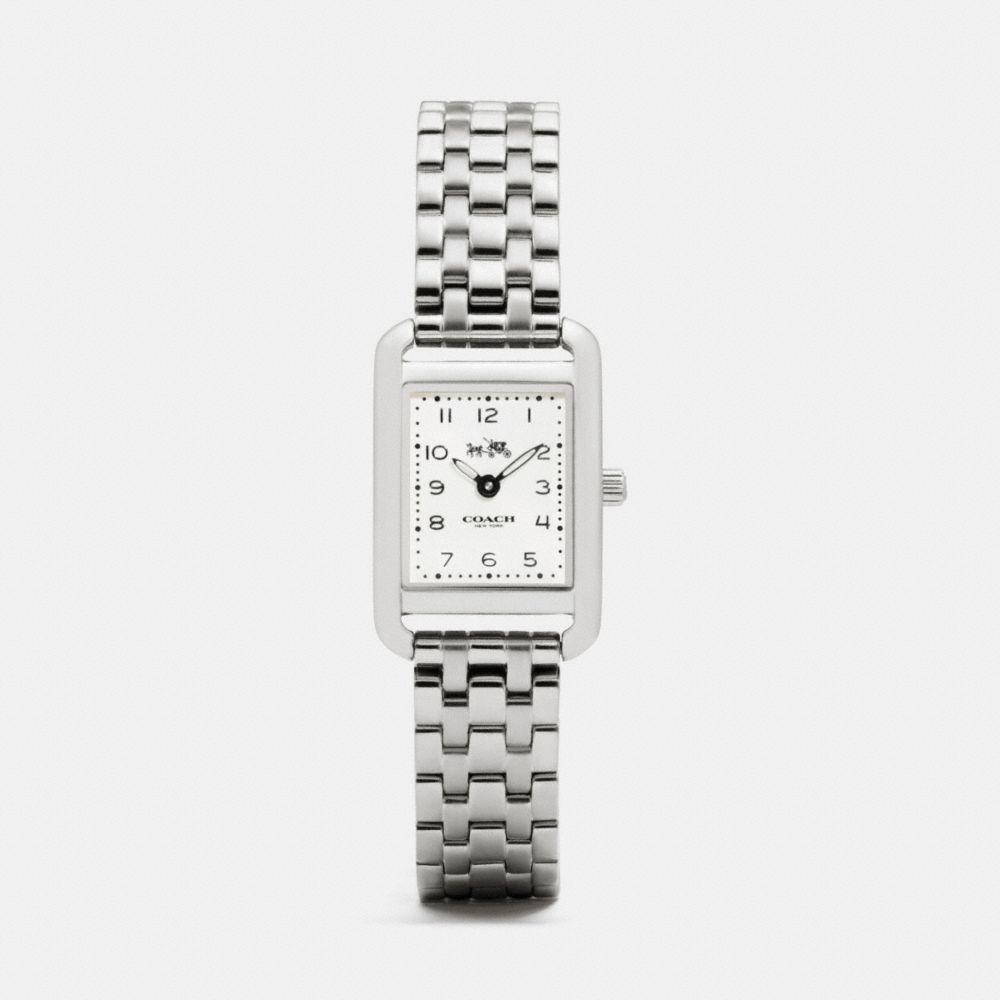 Coach Thompson Stainless Steel Bracelet Watch