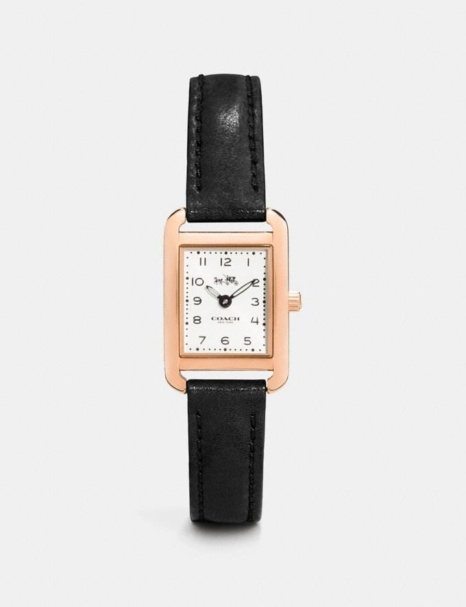 Coach Thompson Watch, 30mm Black Women Accessories Watches