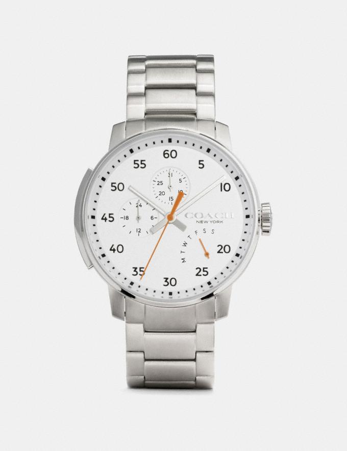 Coach Bleecker Watch, 42mm Ss Men Accessories Watches
