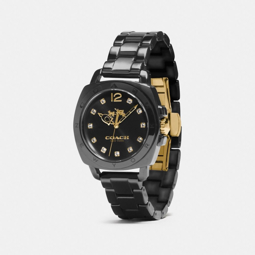 Boyfriend 34mm Ceramic Bracelet Watch - Alternate View A1