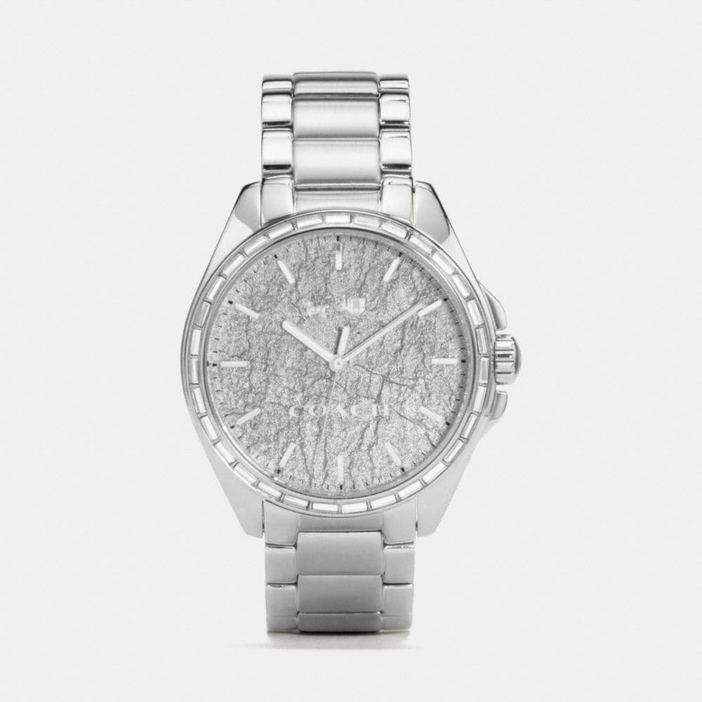 Tristen Foil Dial Stainless Steel Bracelet Watch