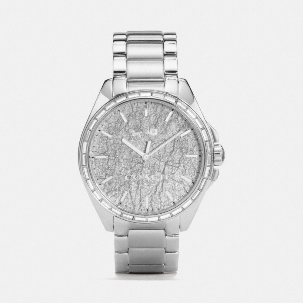 Coach Tristen Foil Dial Stainless Steel Bracelet Watch