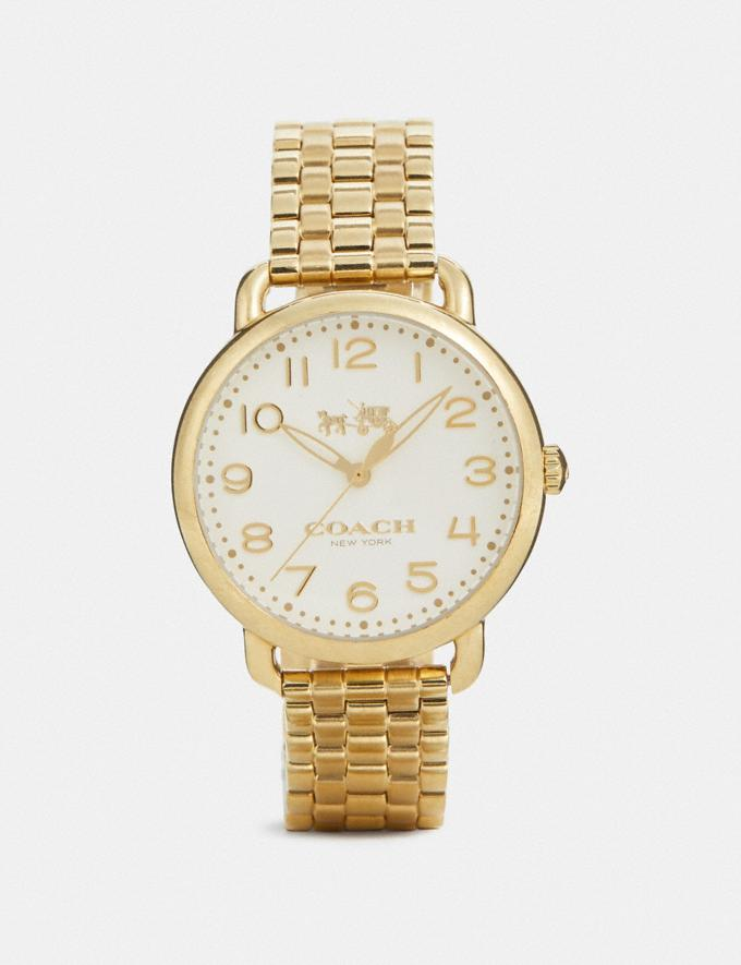 Coach Delancey Watch, 36mm Gold DEFAULT_CATEGORY