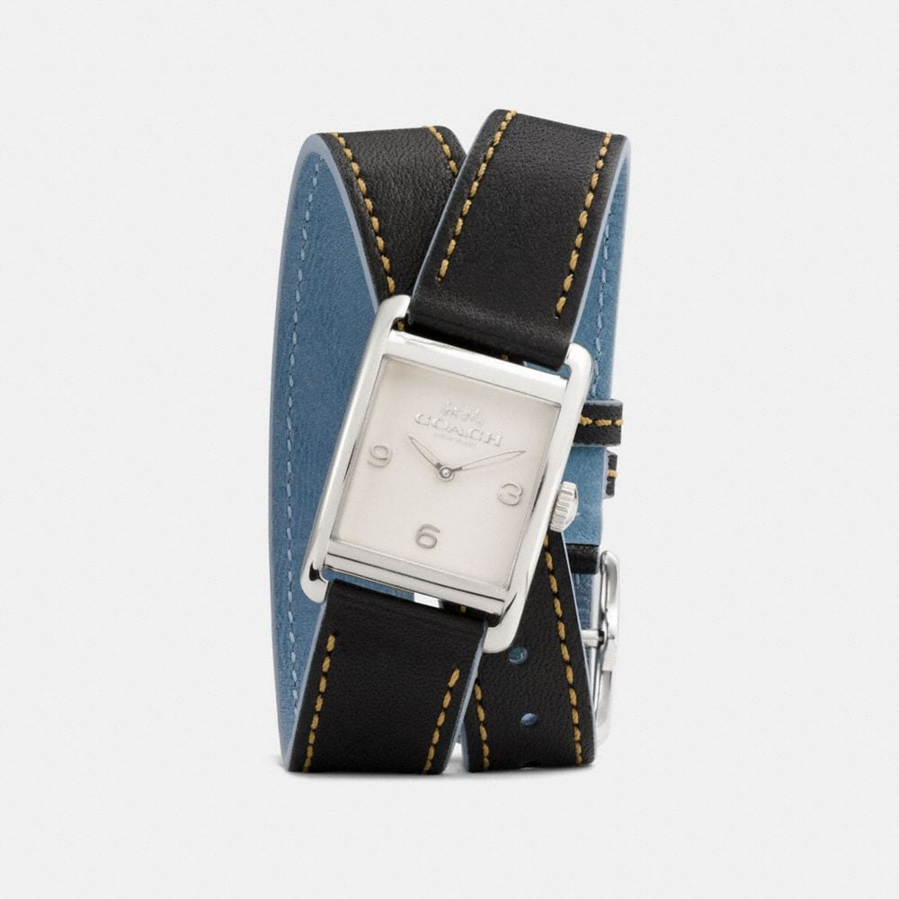 RENWICK DOUBLE WRAP WATCH, 25MM X 35MM