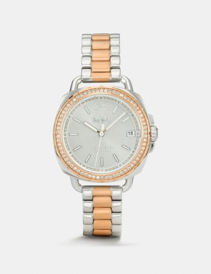 Coach Tatum Watch, 34mm Two Tone Gifts For Her