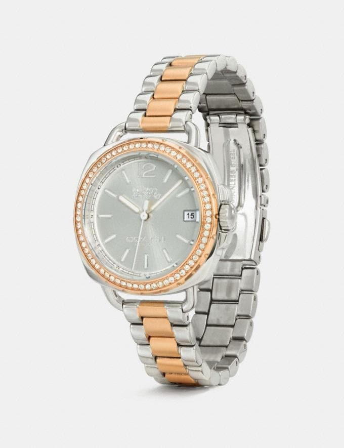 Coach Tatum Watch, 34mm Two Tone Gifts For Her Alternate View 1