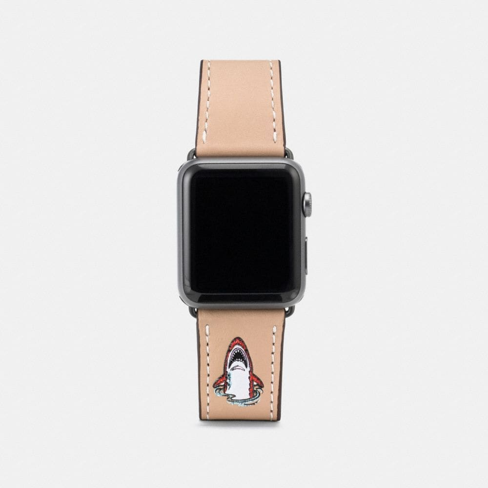 Coach Apple Watch® Strap With Sharky