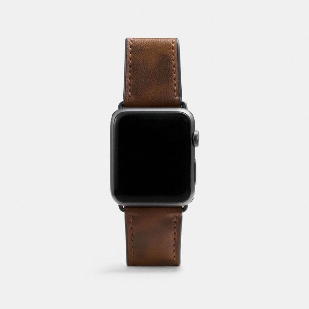 Coach Apple Watch® Strap With Camo Print