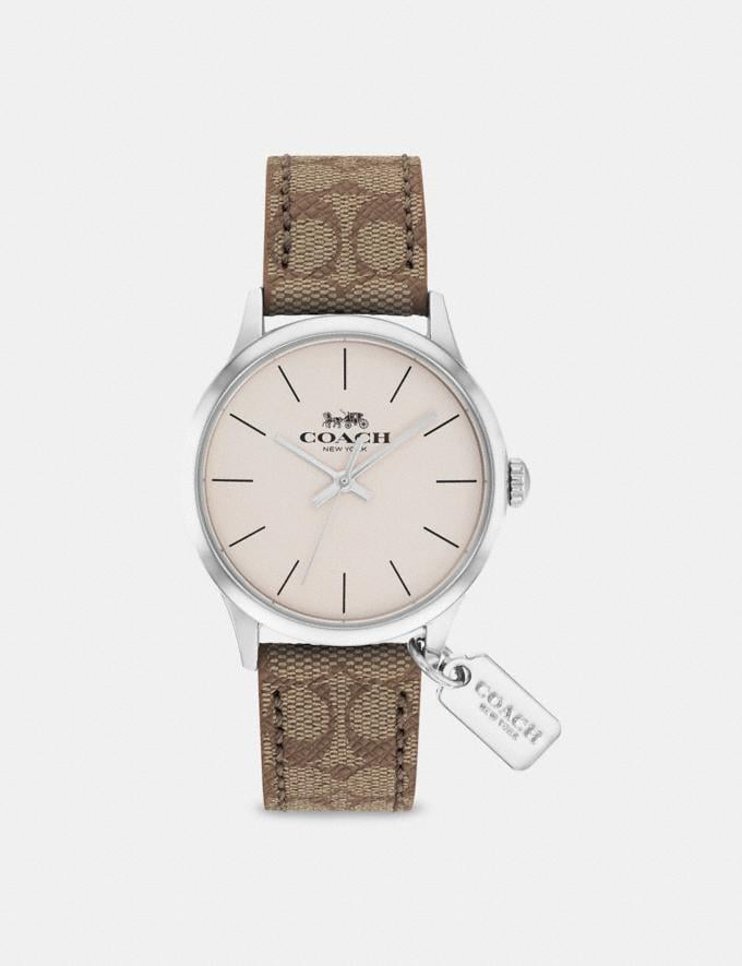 Coach Ruby Watch, 32mm Khaki