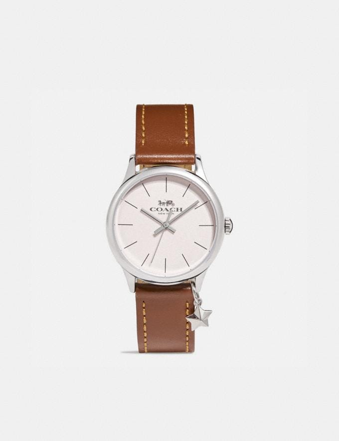Coach Ruby Watch, 32mm Saddle