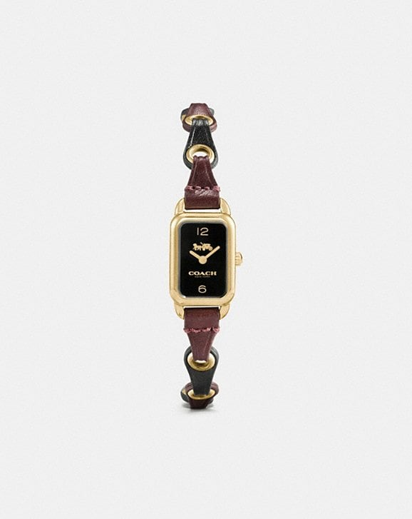 Coach Ludlow Watch With Coach Link, 17mm X 24mm