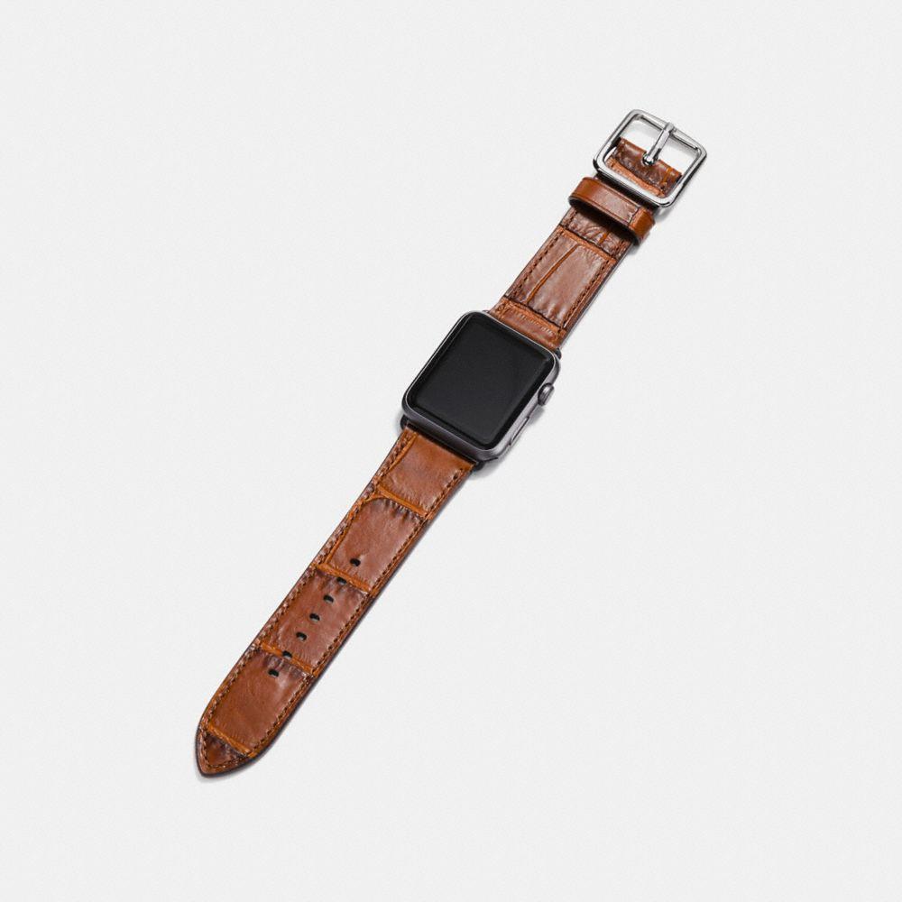 Coach Apple Watch® Strap Alternate View 1