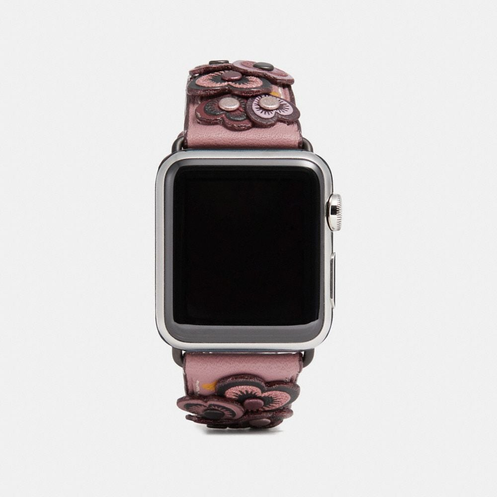 Coach Apple Watch® Strap With Heart Applique
