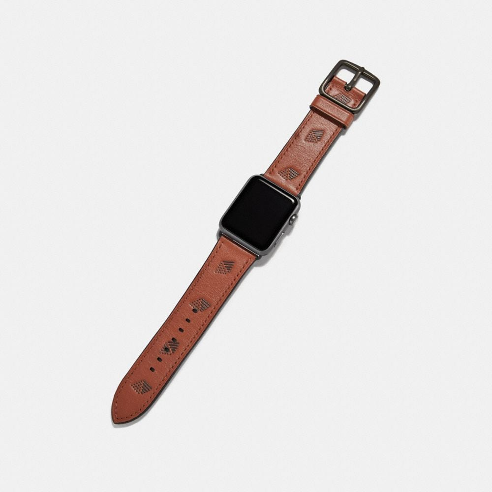 Coach Apple Watch® Strap Alternate View 1