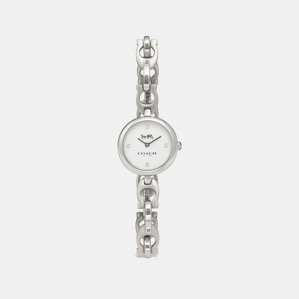 Coach Signature Chain Watch, 26mm